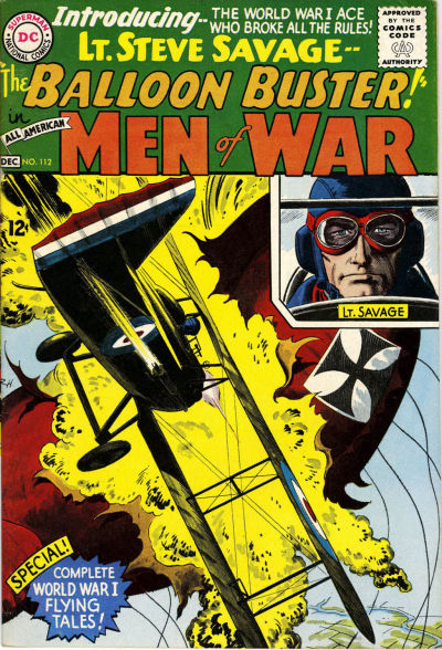 Cover for All-American Men of War (DC, 1953 series) #112