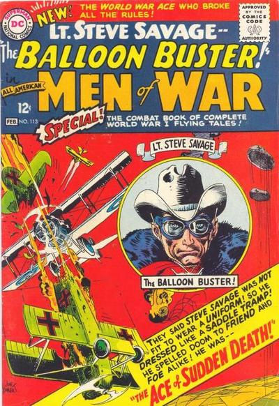 Cover for All-American Men of War (DC, 1953 series) #113