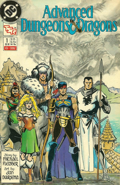 Cover for Advanced Dungeons & Dragons Comic Book (DC, 1988 series) #1