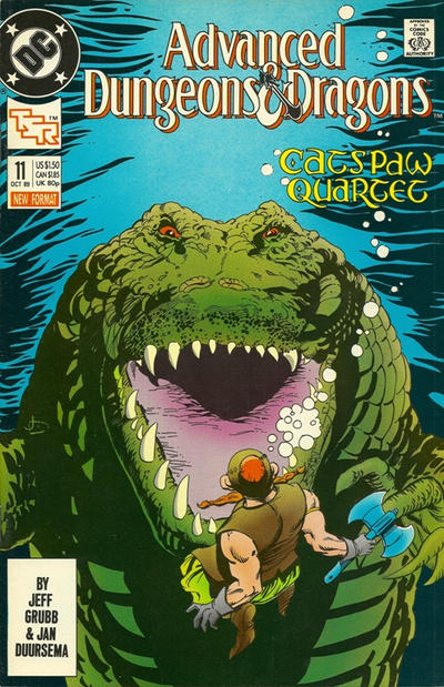 Cover for Advanced Dungeons & Dragons Comic Book (DC, 1988 series) #11
