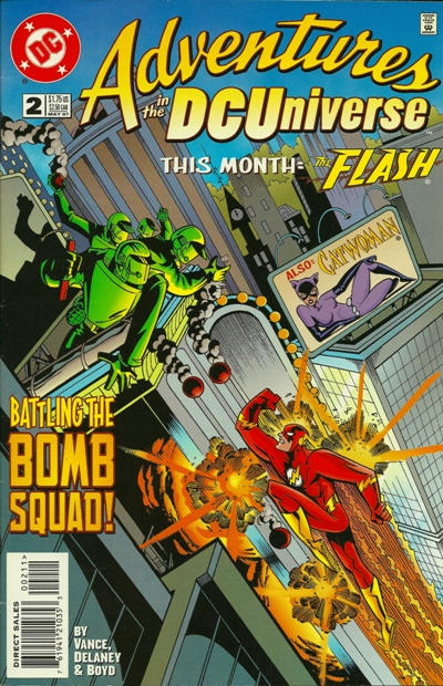 Cover for Adventures in the DC Universe (1997 series) #2
