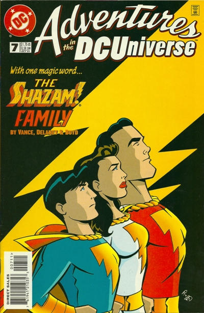 Cover for Adventures in the DC Universe (DC, 1997 series) #7