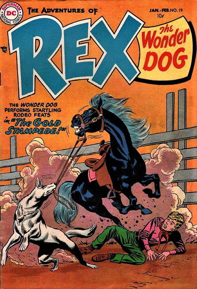 Cover for The Adventures of Rex the Wonder Dog (DC, 1952 series) #19