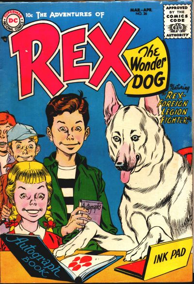 Cover for The Adventures of Rex the Wonder Dog (DC, 1952 series) #26