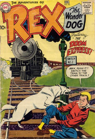 Cover for The Adventures of Rex the Wonder Dog (DC, 1952 series) #43
