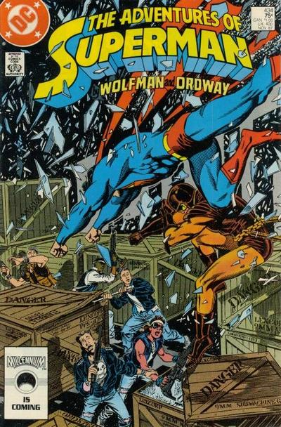 Cover for Adventures of Superman (DC, 1987 series) #434
