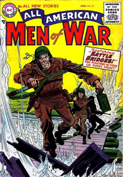 Cover for All-American Men of War (DC, 1953 series) #29