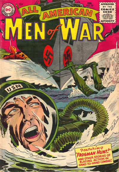 Cover for All-American Men of War (DC, 1953 series) #30
