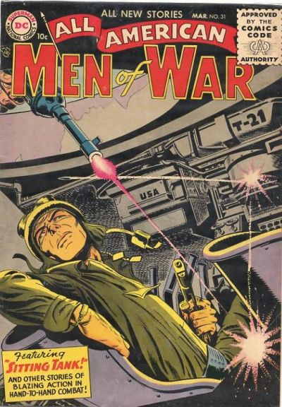 Cover for All-American Men of War (DC, 1953 series) #31