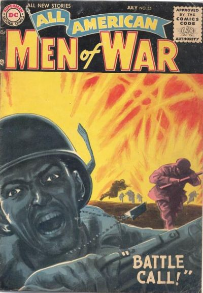 Cover for All-American Men of War (DC, 1953 series) #35