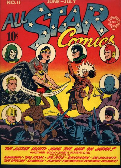Cover for All-Star Comics (DC, 1940 series) #11
