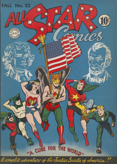 Cover for All-Star Comics (DC, 1940 series) #22
