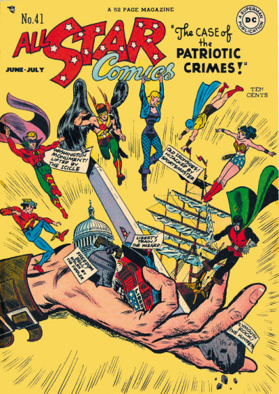 Cover for All-Star Comics (DC, 1940 series) #41