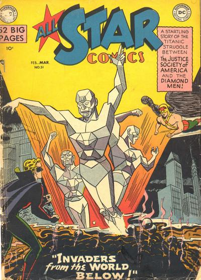 Cover for All-Star Comics (DC, 1940 series) #51