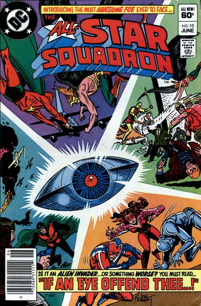 Cover for All-Star Squadron (DC, 1981 series) #10