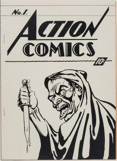 Cover for Action Comics (1937 series) #1