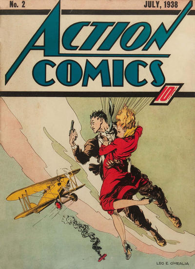 Cover for Action Comics (1938 series) #2