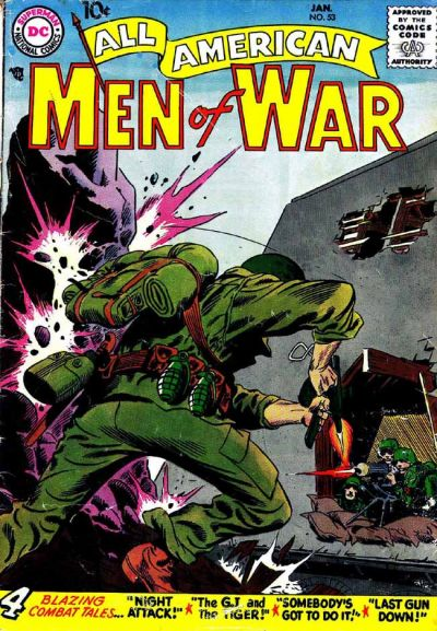 Cover for All-American Men of War (DC, 1953 series) #53