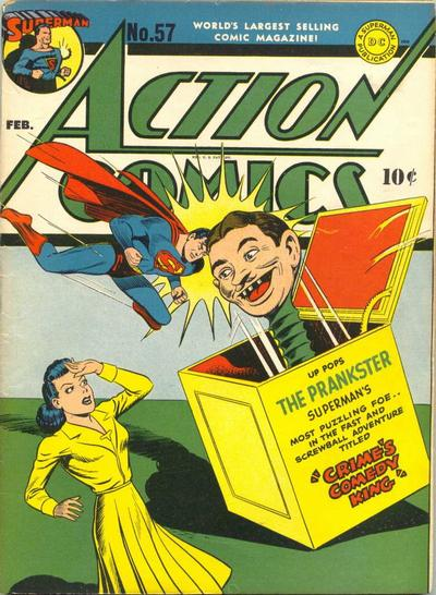 Cover for Action Comics (DC, 1938 series) #57