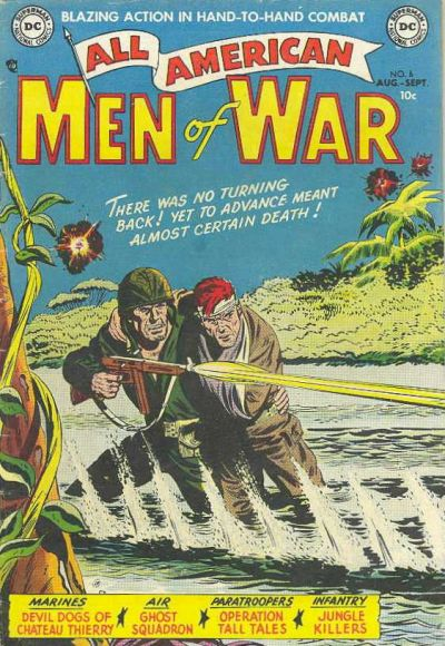 Cover for All-American Men of War (DC, 1953 series) #6