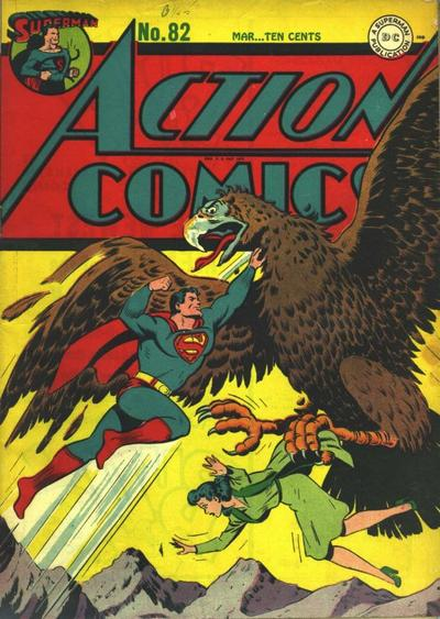 Cover for Action Comics (1938 series) #82