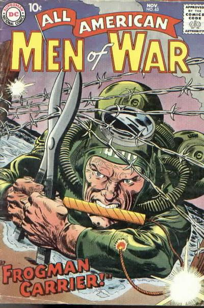 Cover for All-American Men of War (1953 series) #63