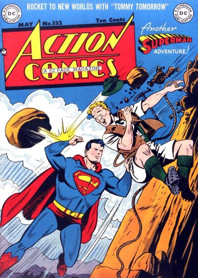 Cover for Action Comics (1938 series) #132