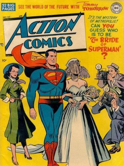 Cover for Action Comics (DC, 1938 series) #143