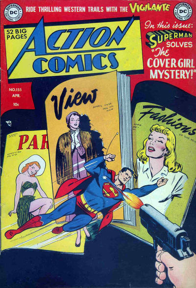 Cover for Action Comics (DC, 1938 series) #155