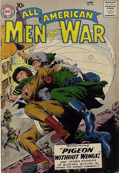 Cover for All-American Men of War (DC, 1953 series) #70