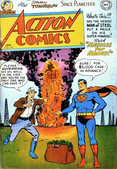 Cover for Action Comics (DC, 1938 series) #176