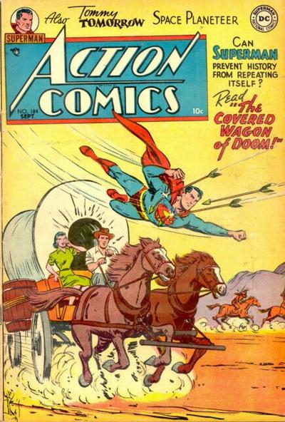 Cover for Action Comics (1938 series) #184