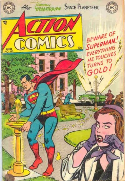 Cover for Action Comics (DC, 1938 series) #193