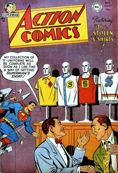 Cover for Action Comics (1938 series) #197