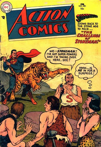Cover for Action Comics (1938 series) #201