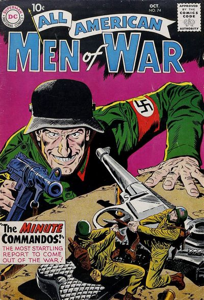 Cover for All-American Men of War (DC, 1953 series) #74