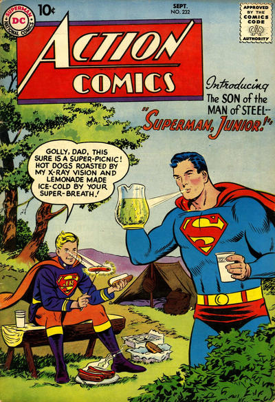 Cover for Action Comics (1938 series) #232