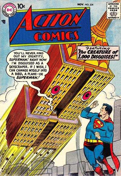 Cover for Action Comics (DC, 1938 series) #234