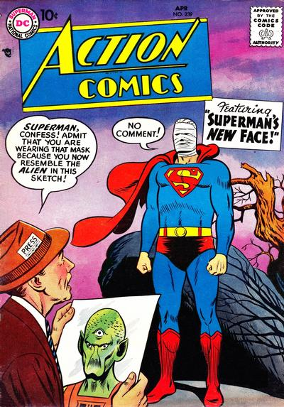 Cover for Action Comics (DC, 1938 series) #239
