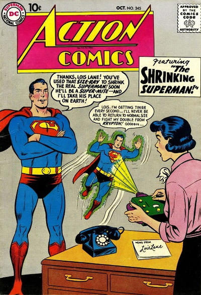 Cover for Action Comics (DC, 1938 series) #245
