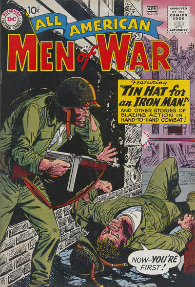 Cover for All-American Men of War (DC, 1953 series) #78