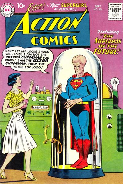 Cover for Action Comics (1938 series) #256