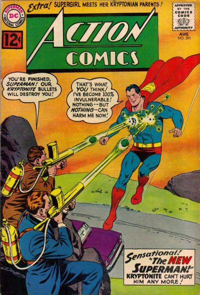 Cover for Action Comics (1938 series) #291