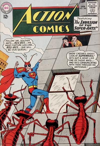 Cover for Action Comics (DC, 1938 series) #296
