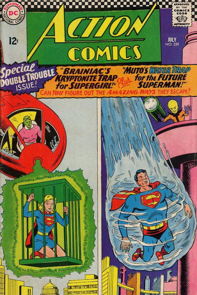 Cover for Action Comics (DC, 1938 series) #339