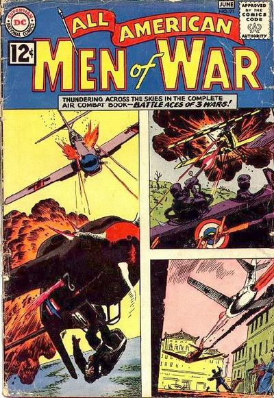 Cover for All-American Men of War (DC, 1953 series) #91