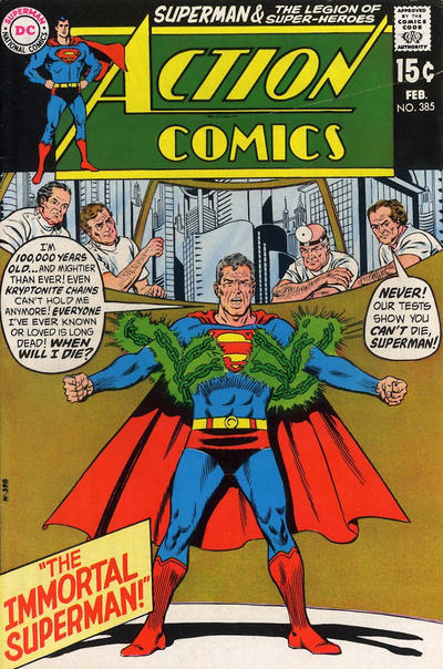 Cover for Action Comics (DC, 1938 series) #385