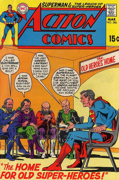 Cover for Action Comics (DC, 1938 series) #386