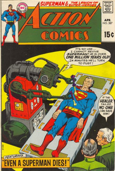Cover for Action Comics (DC, 1938 series) #387