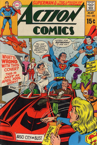 Cover for Action Comics (DC, 1938 series) #388
